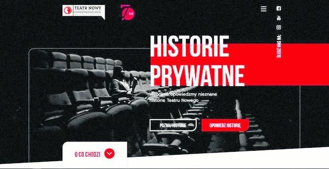 Teatr Nowy przygotował specjalną stronę internetową