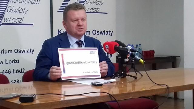 Grzegorz Wierzchowski, łódzki kurator oświaty