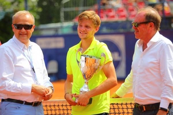Belg David Goffin wygrał w Poznaniu rok temu