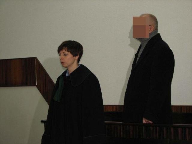 Witalis G. podczas procesu