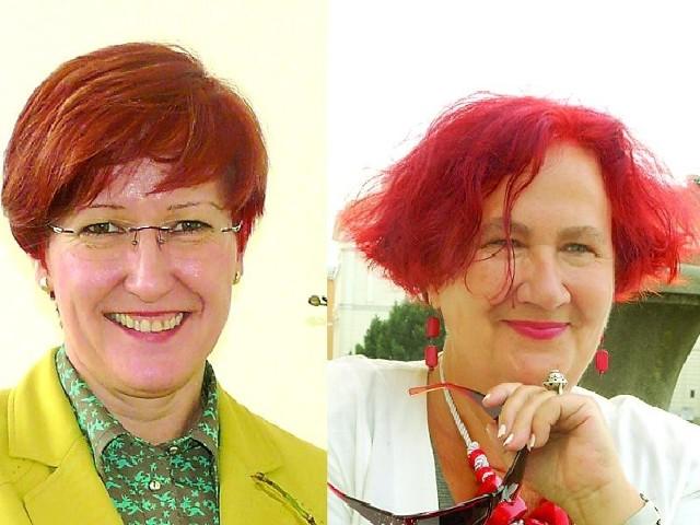 Po lewej Małgorzata Stawicka, a po prawej Barbara Jendrzejewska
