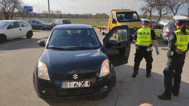 N ulicy Jarzębinowej w Białymstoku pijany kierowca potrącił 9-letnią dziewczynkę