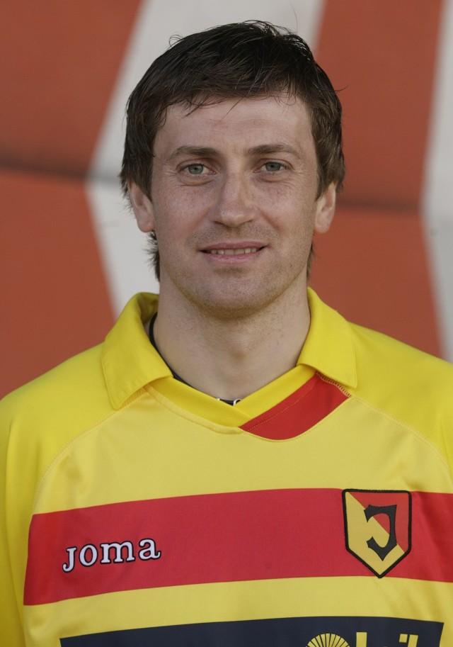 Andrius Skerla został bohaterem meczu w Zabrzu