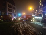 Pożar przy ul. Szafarnia 6 w Gdańsku [21.12.2018 r.]. Na parkingu podziemnym paliły się dwa samochody. Poszkodowana jedna osoba [zdjęcia]