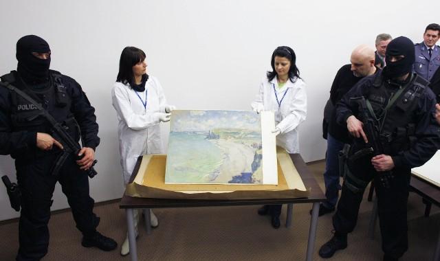 Prezentacja odzyskanego dzieła odbyła się w styczniu 2010 roku, w Muzeum Narodowym w Poznaniu.