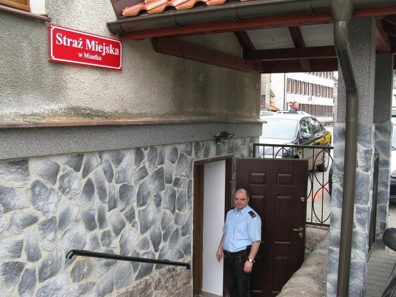 Straż Miejska w Miastku w nowej siedzibie