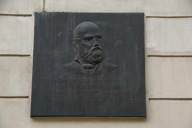 Henryk Jordan zasługuje nie na jedną tablicę pamiątkową, a na własny szlak po Krakowie i na żywą pamięć