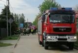 Ewakuacja mieszkańców z 5 domów. Uszkodzony rurociąg gazowy w Juszkowie gm. Pruszcz Gd. Zdjęcia