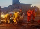 Wypadek w Siewierzu. Na DK 1 do Katowic tworzą się duże korki