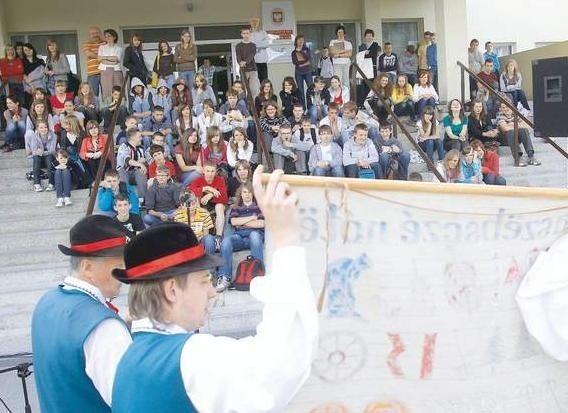 FOT. ALEKSANDER KNITTERW tym roku po raz pierwszy w Gimnazjum nr 1 odbył się Tydzień kultury