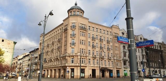 Hotel Pałac Polonia. Budynek wzniesiono w latach 1910-1912.