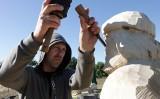 """Trwa VIII Plener Rzeźb Wielkogabarytowych w Drewnie """"U Styperków"""" w Rudzie pod Grudziądzem [zdjęcia]"""