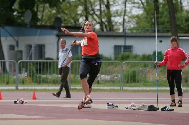 Barbara Madejczyk w trakcie zawodów w Ustce. W naszym regionie rzadko ma okazję startować w konkursach.