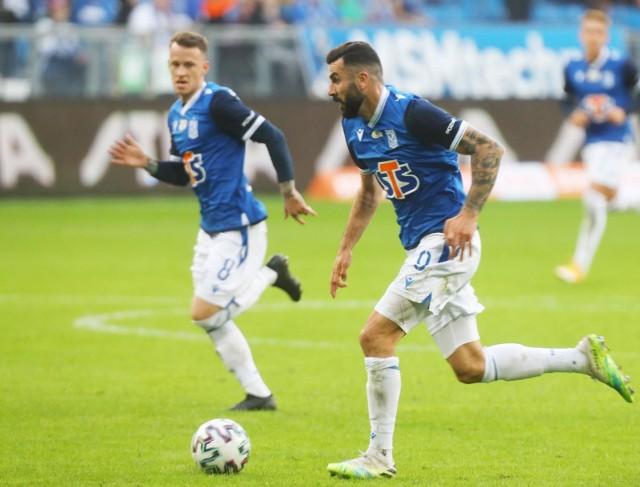 Mikael Ishak do 11 goli w ekstraklasie, dodał 8 w Lidze Europy
