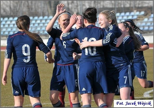 Mecz Szkocja - Słowacja (2:0) w Koszalinie