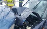 Śmiertelny wypadek na drodze w gminie Kożuchów. Kierowca zginął na miejscu