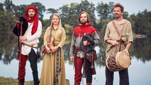 Zespół Muzyki Dawnej Huskarl z Gniezna spotkamy w niedzielę, 23 maja 2021 r. na Pikniku Tradycji w Zielonej Górze Starym Kisielinie