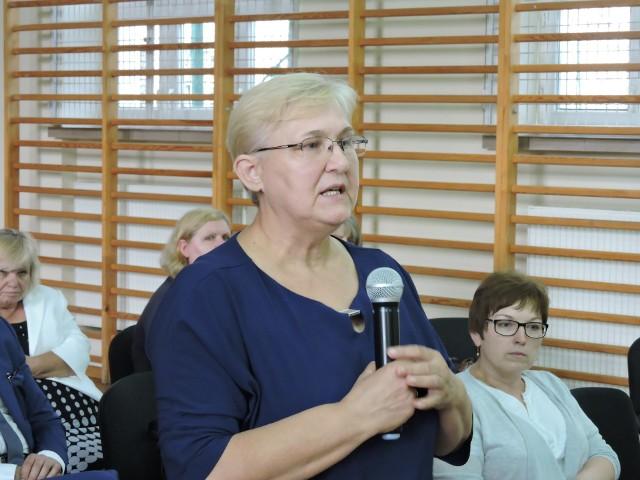Dyrektor szpitala Elżbieta Malec