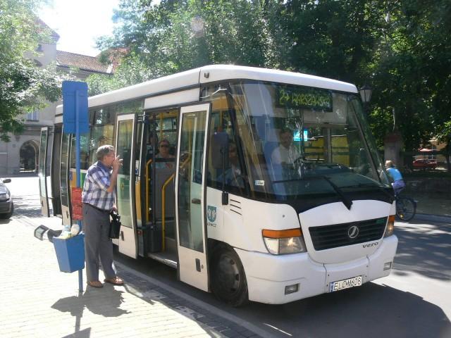 Władze miasta planują zakup czterech nowoczesnych autobusów