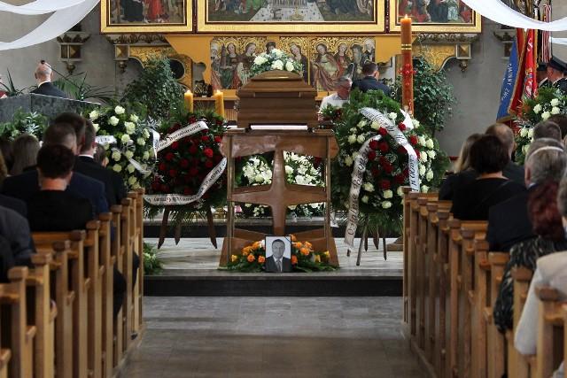 Pogrzeb burmistrza Warty