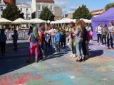 Chełmno Holi Festival Święto Kolorów i kino plenerowe na Nowych Plantach w Chełmnie - zobaczcie zdjęcia