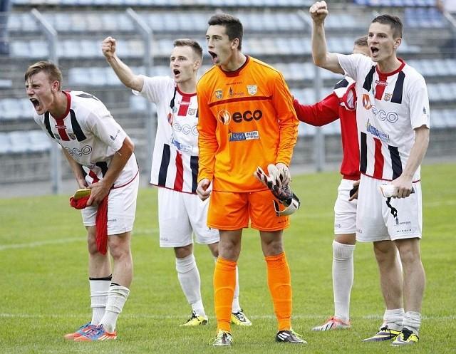 Piłkarze Odry Opole mają ostatnio wiele powodów do zadowolenia.