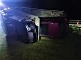 Wypadek na A2: Na autostradzie przewróciła się laweta przewożąca bentleye [ZDJĘCIA]