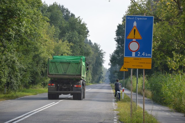 Stary most w Cigacicach oraz ścieżka rowerowa mogą zostać odremontowane w podobnych terminie
