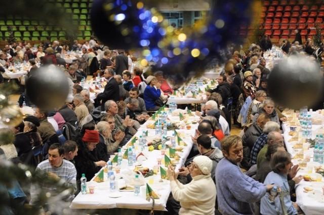W ubiegłym roku na Wigilię do Okrąglaka przyszło koło 1400 osób.