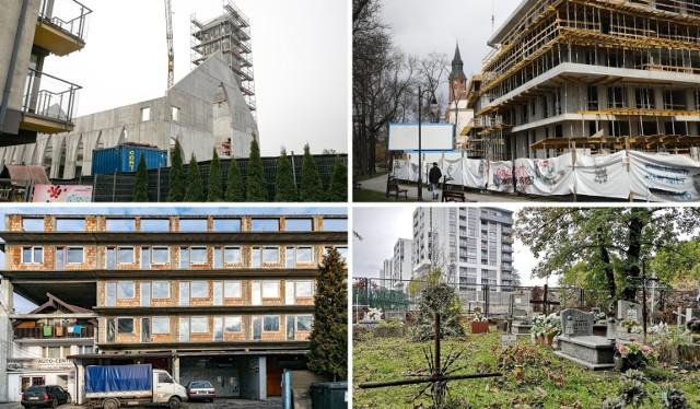 Zobacz największe absurdy budowlane w Krakowie. Przesuwaj zdjęcia w prawo - naciśnij strzałkę lub przycisk NASTĘPNE >>>