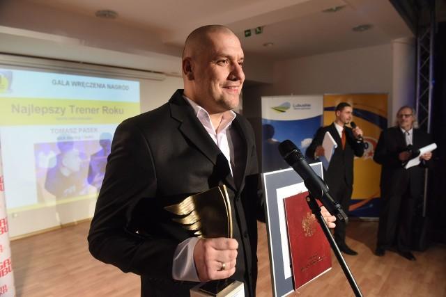 Tomasz Pasek, najlepszy trener w sportach indywidualnych w plebiscycie Gazety Lubuskiej