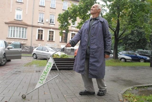 Władysław Salik jest dumny ze swojego wynalazku
