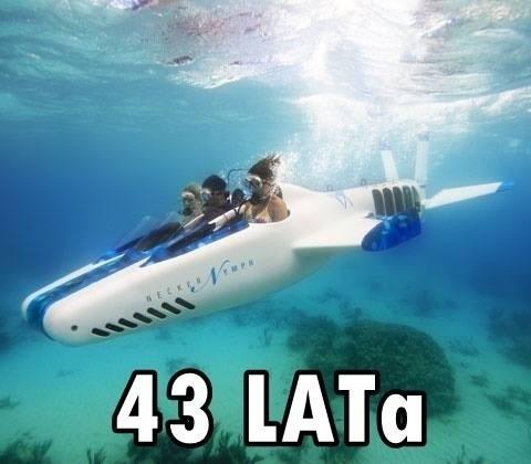 """3-osobowa łódź podwodna o nazwie """"Necker Nymph"""" kosztuje ok. 2.000.000 pln"""