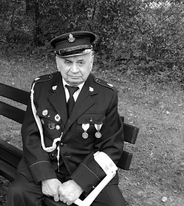 Druh Julian Guzy związany był przez OSP w Błędowie aż 75 lat, a może nawet dłużej