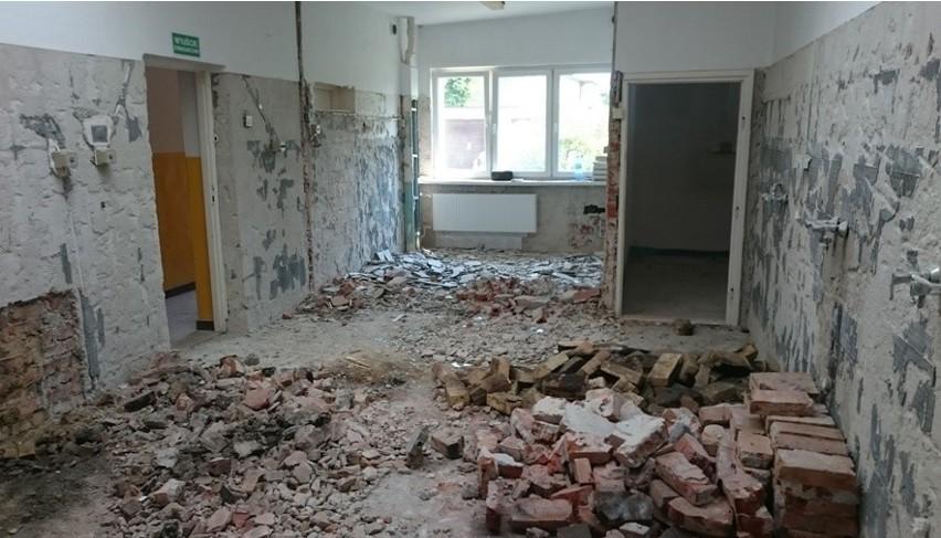 Trwa remont przedszkola w Kościerzynie