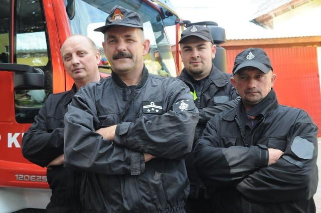 Na rozmowę o OSP w Kijach udało się nam namówić niemal w trybie alarmowym Mirosława Gienko, Mariusza Księżaka, Łukasza Tyca i Jarosława Księżaka