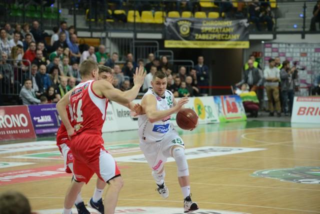 Naszym koszykarzom nie udało się przywieźć ze Śląska dwóch punktów za zwycięstwo