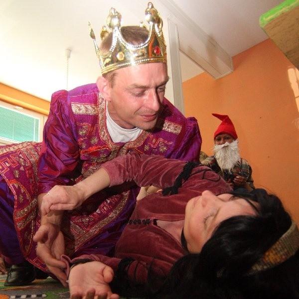 Królewna i książę,  rodzice Jasia