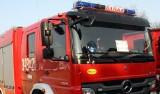 Nowe Rybie: Pożar domu. Poparzony mężczyzna zabrany do szpitala