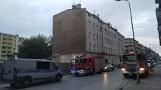 Ewakuacja mieszkańców kamienicy przy Żeromskiego. Przez roboty budowlane pękły ściany budynku?