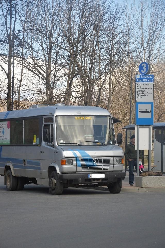 Prywatne busy pasażerskie to wciąż na Podhalu jedyna forma zorganizowanego transportu dla tych, co nie posiadają auta