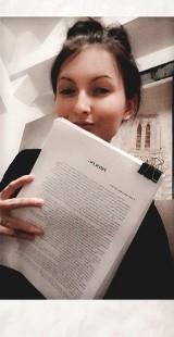 """KROSNO ODRZAŃSKIE: 21-letnia Kamila napisała polską wersję """"50 twarzy Greya"""". Książka wkrótce zostanie wydana"""