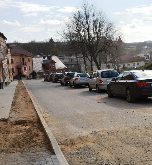 Remont ulicy Pochyłej.
