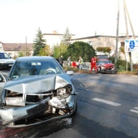 Policja ustala okoliczności wypadku.