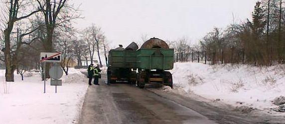 Tragedia wydarzyła się na drodze powiatowej między Kwieciszewem a Gębicami