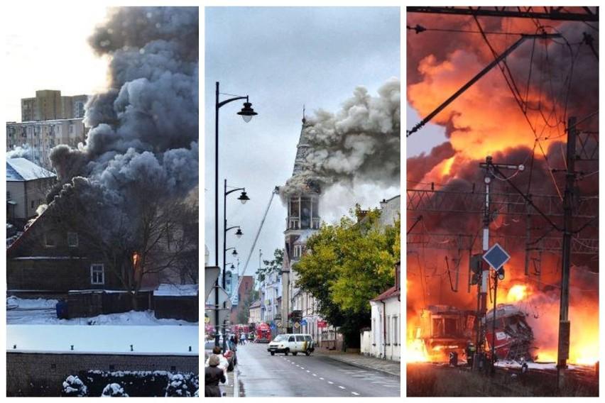 Przypominamy największe akcje podlaskich strażaków w ciągu...