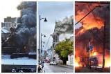 Największe akcje podlaskich strażaków. Pożary, ewakuacje i wypadki drogowe [ZDJĘCIA]