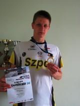 Poznaniak Jacek Krawczyk został mistrzem Europy juniorów w aquathlonie!