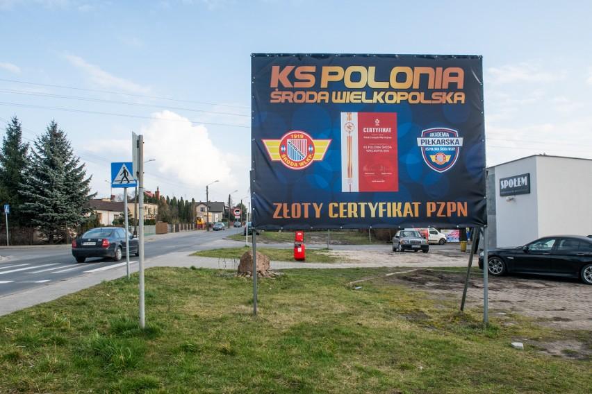 Etatowy uczestnik Totolotek Pucharu Polski - Polonia Środa Wielkopolska ze złotym certyfikatem PZPN
