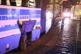 Tramwaj wykoleił się w centrum. Poważne utrudnienia dla pasażerów